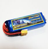 Аккумулятор 11.1V 3000mAh 25C Lipo 3S XT60 Giant Power