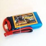 Аккумулятор 7.4V 850mAh 2S 25C LiPo JST Giant Power